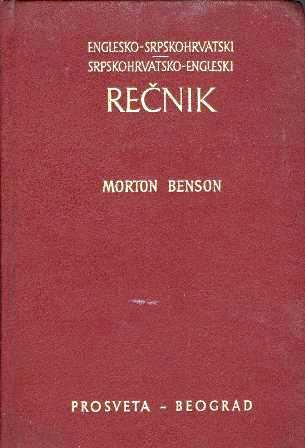 Morton-Benson: REČNIK