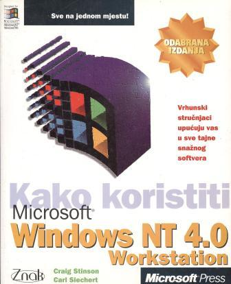Craig Stinson i Carl Siechert: MICROSOFT WINDOWS NT 4.0