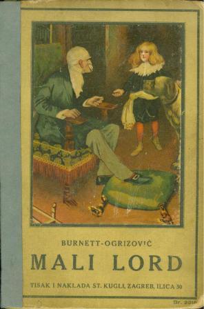 Frances H. Burnett: MALI LORD