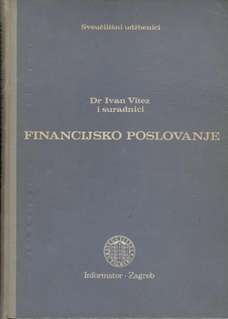 Ivan Vitez: FINANCIJSKO POSLOVANJE