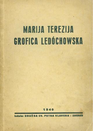 MARIJA TEREZIJA GROFICA LEDOCHOWSKA