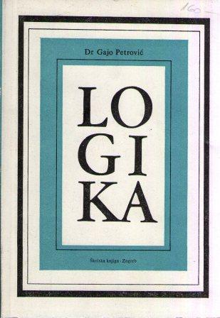 Gajo Petrović: LOGIKA