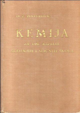 Zvonimir Pinterović: KEMIJA