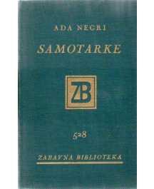 Ada Negri: SAMOTARKE