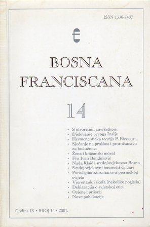 BOSNA FRANCISCANA 14