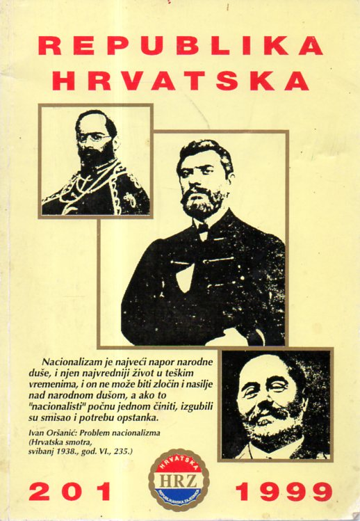 REPUBLIKA HRVATSKA 201/1999