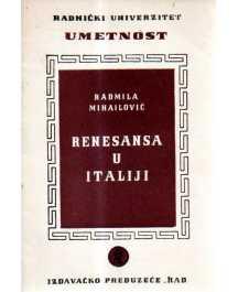 Radmila Mihailović: RENESANSA U ITALIJI