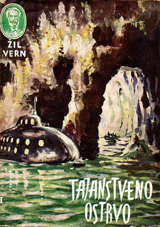 Jules Verne: TAJANSTVENO OSTRVO I-II